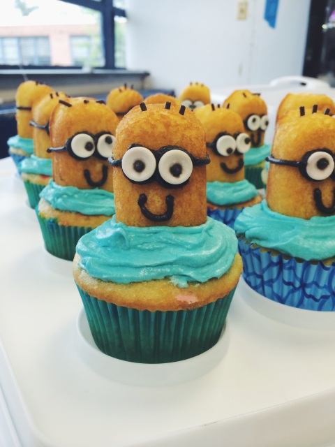 Minion Cupcakes Doughing It Right