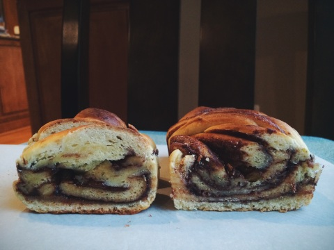 nutella babka | doughing it right