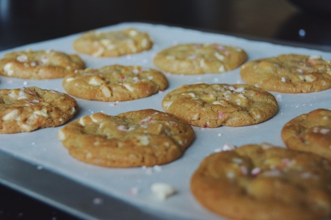 white chocolate macadamia | doughing it right
